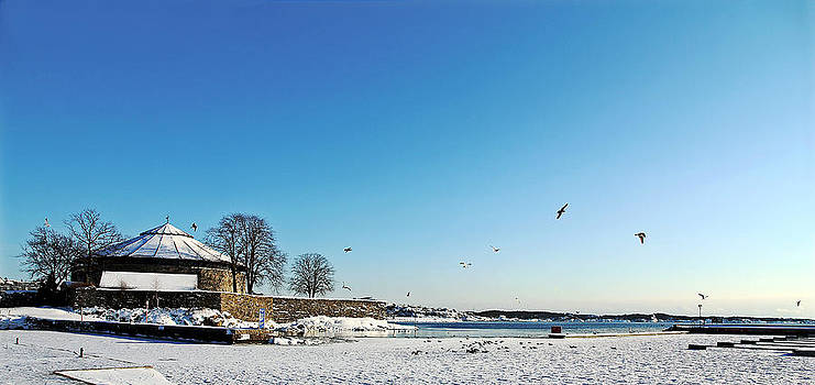 the fortress in Kristiansand by Kent Andersen
