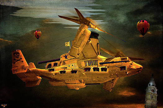 Chris Lord - The Golden Osprey A Steam Powered Flying Gunship