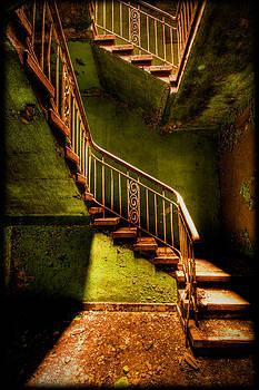 The Golden Stairway V by Steven Coppenbarger