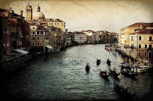 The Grand Canal Venice by Tim Kahane