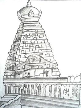 The Great Big Temple by Yuvaraj Prasanna