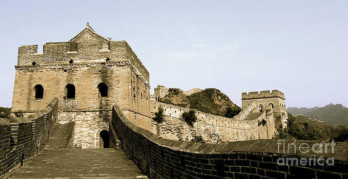 The Great Wall of China by Glennis Siverson