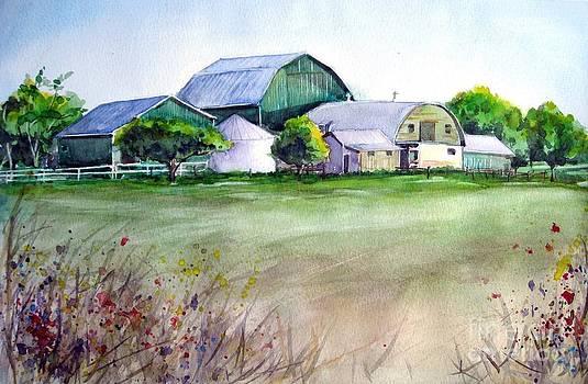 The Green Barn by Ronald Tseng