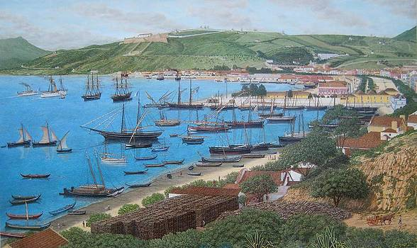 The Harbour by Carlos De Vasconcelos Tavares