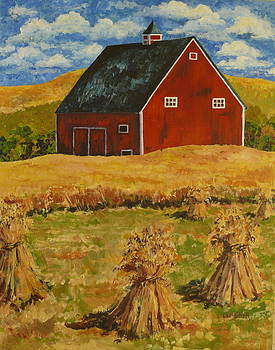 The Hay Harvest by Carol Ann Wagner