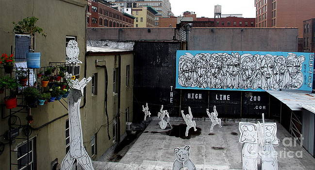 The High Line Zoo by Maria Scarfone