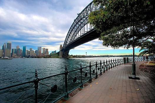 The Iconic Sydney Harbour Bridge by Boyd Nesbitt