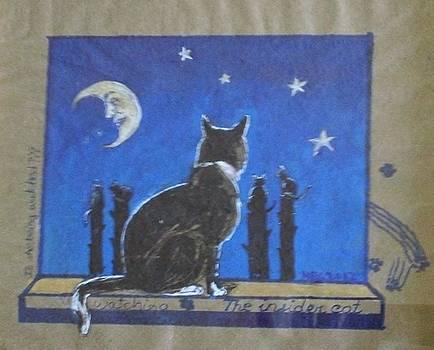 The insider cat by Maria Elena Gonzalez