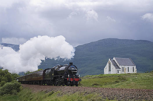 Howard Kennedy - The Jacobite Express at Lochailort Church
