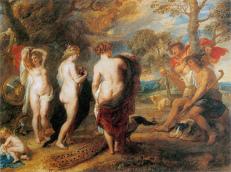 Sir Peter Paul Rubens - The Judgement of Paris