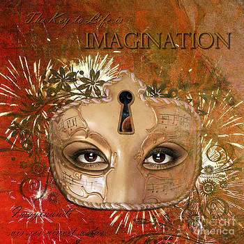 The Key to life is Imagination by Pia Vang