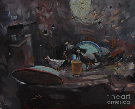 The kitchen by Mohamed Fadul