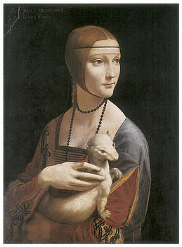 Leonardo Da Vinci - The Lady with an Ermine