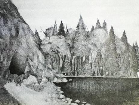 The Lake by Melissa Cabigao