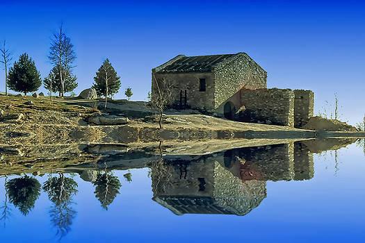 Enrico Pelos - The lake Santuary - Santuario della Madonna del lago