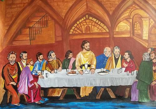 The Last Supper by Iris Devadason