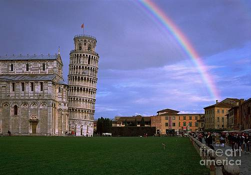 The Leaning Tower of Pisa by Serge Fourletoff