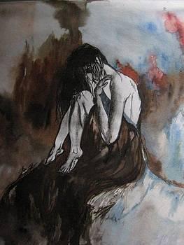 The light wraps you in its mortal flame by Debraj Mandal