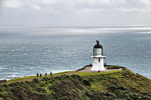 The Lighthouse at Cape Reinga by Tim Bow