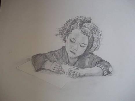 The Little Artist by Peter Edward Green