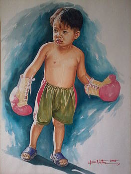 The Little Boxer by Jose Vistan