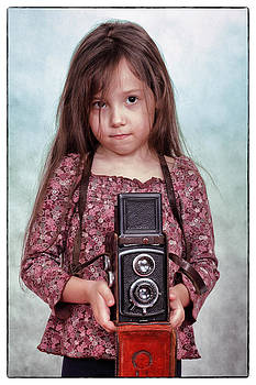 The little photographer by Ferenc Farago