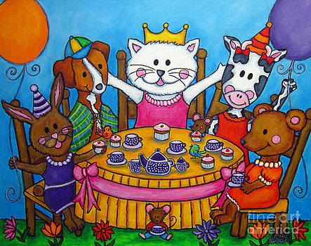 The Little Tea Party by Lisa  Lorenz