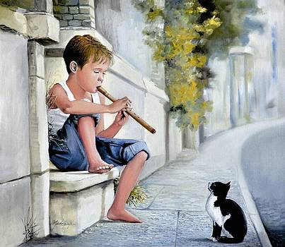 The Little Whistle by Mardare Constantin Cristi