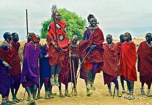 Gwyn Newcombe - The Maasai