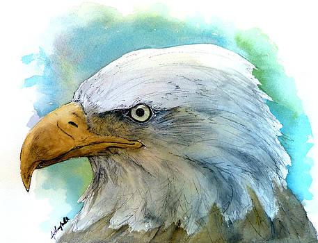 The Majestic Eagle by Anthony Nold