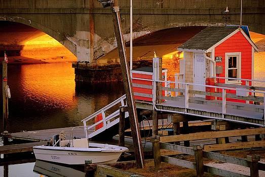 Marysue Ryan - The Marina at Sunset
