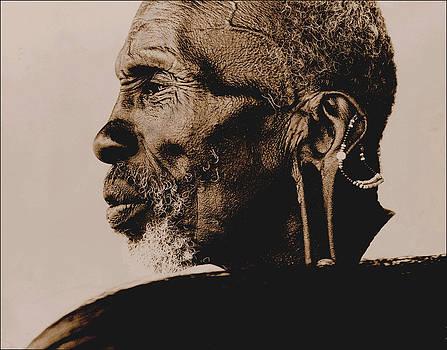 The Masai Shaman by JDon Cook