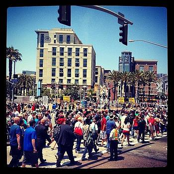 The Masses Of Comic Con! #comiccon by Lauren Laddusaw