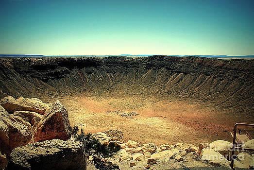 Susanne Van Hulst - The Meteor Crater in AZ