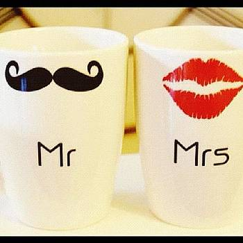 The Mister And The Misses..... #mugs by Montrae Harris