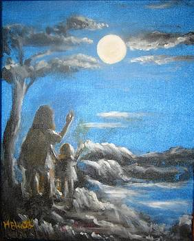 The Moon by M bhatt
