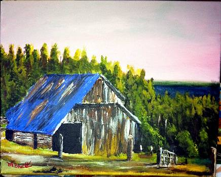 The Old Barn by M Bhatt