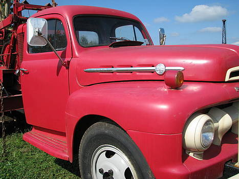 The Old Ford F-6 by Sheila Rodgers