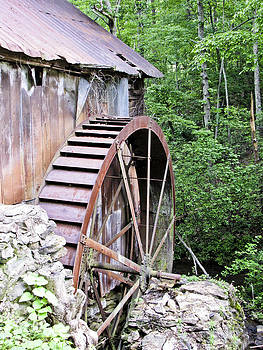 The Old Ghristmill by Diane Geddes