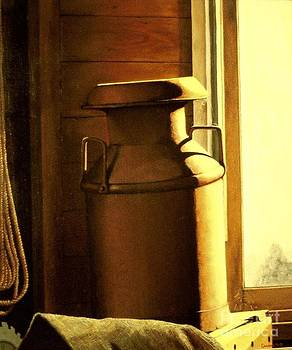 The Old Milk Can by Michael John Cavanagh