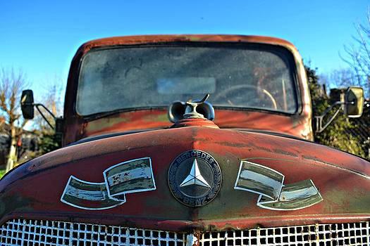 The old truck of my Grandpa by Sabrina Vera