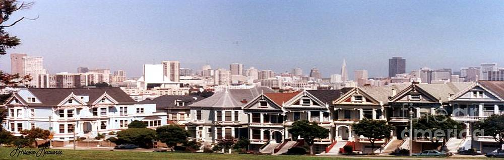 The Painted Ladies of San Francisco by Lorraine Louwerse