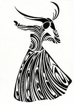 The Persian Dancer by Raiyan Talkhani