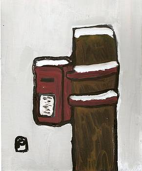 The postbox by Peter  McPartlin