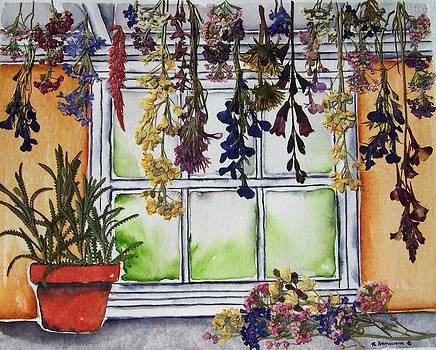 The Potting Shed II by Regina Ammerman