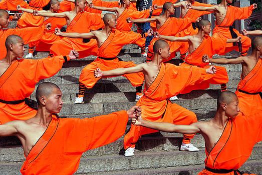 The power of Shaolin by Kamel Rekouane