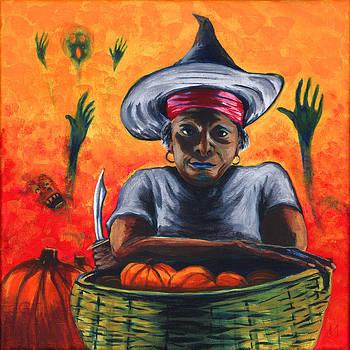 The Pumpkin Vendor  by Gail Finn