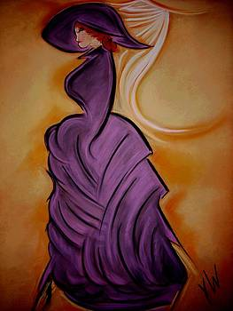 The Purple Dress by Gay Watters