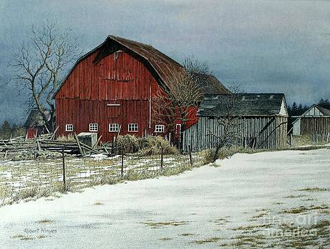 The Red Barn by Robert Hinves