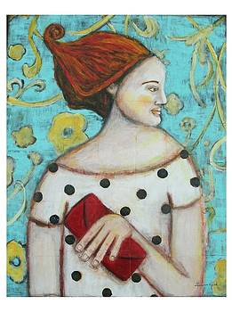 The Red Clutch by Shannon Nicole